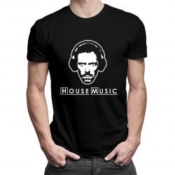 (Dr) House Music - pánské tričko s potiskem