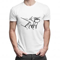 Desk Flip - pánské tričko s potiskem