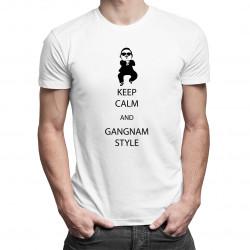 Keep Calm And Gangnam Style! - pánské tričko s potiskem