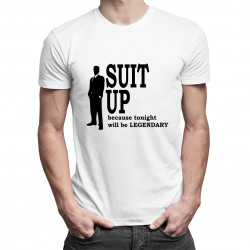 Suit up! -  How I met you mother - dámské nebo pánské tričko s potiskem