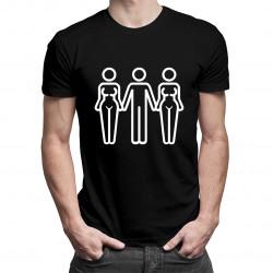 Threesome  - dámské nebo pánské tričko s potiskem