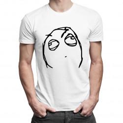 Wait a minute - pánské tričko s potiskem