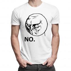 No. - dámské nebo pánské tričko s potiskem
