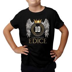Limitovaná edice 10 let - dětské tričko s potiskem