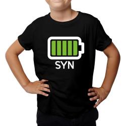 Baterie - syn - dětské tričko s potiskem