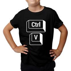CTRL+V - syn - dětské tričko s potiskem
