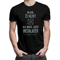 Nic na sílu, všechno kladivem - pánské tričko s potiskem