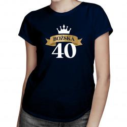 Božská 40 - dámské tričko s potiskem