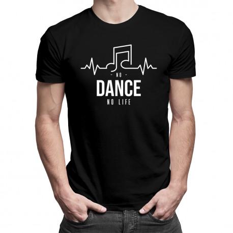 No dance no life - pánské tričko s potiskem