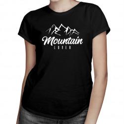 Mountain Lover - dámské tričko s potiskem