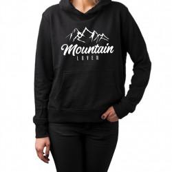 Mountain Lover - dámská mikina s potiskem