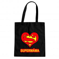 Supermama - taška s potiskem