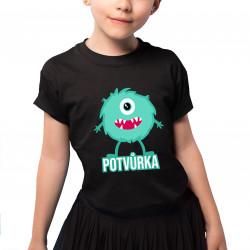 Potvůrka - dětské tričko s potiskem