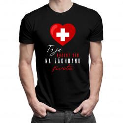 To je krásný den na záchranu života - pánské tričko s potiskem
