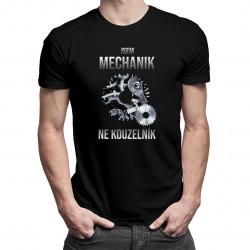 Jsem mechanik, ne kouzelník - pánské tričko s potiskem