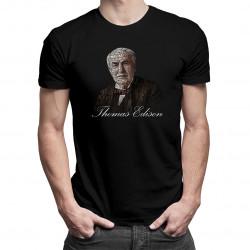 Thomas Edison - pánské tričko s potiskem