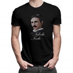 Nikola Tesla - pánské tričko s potiskem