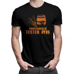Profesionální tester piva - pánské tričko s potiskem