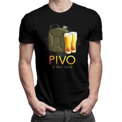 Pivo je moje palivo - pánské tričko s potiskem
