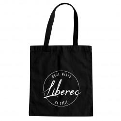 Liberec - moje místo na světě - taška s potiskem