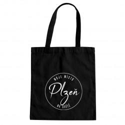 Plzeň - moje místo na světě - taška s potiskem