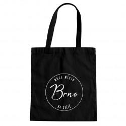 Brno - moje místo na světě - taška s potiskem