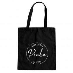 Praha - moje místo na světě - taška s potiskem