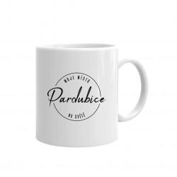 Pardubice - moje místo na světě - hrnek s potiskem