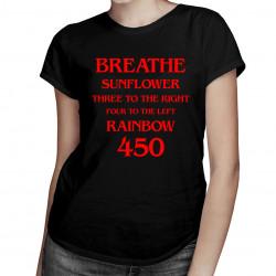 Breathe - dámské tričko s potiskem