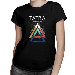 Tatra mountains - dámské tričko s potiskem