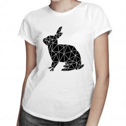 Geometric bunny - dámské tričko s potiskem