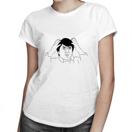 WTF - dámské tričko s potiskem