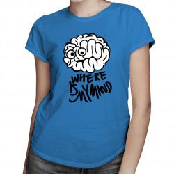 Where is my mind - dámské tričko s potiskem