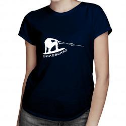 Wakeboard tail grab - dámské tričko s potiskem