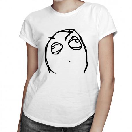 Wait a minute - dámské tričko s potiskem