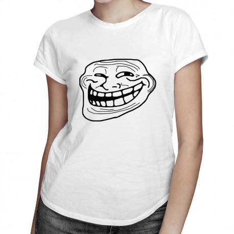 Trollface - dámské tričko s potiskem