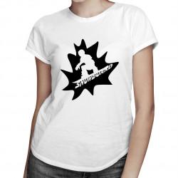 Snowboard master - dámské tričko s potiskem