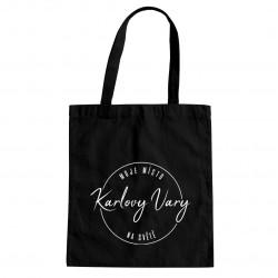 Karlovy Vary - moje místo na světě - taška s potiskem