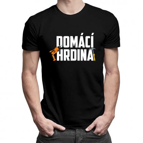 Domácí hrdina v2 - pánské tričko s potiskem