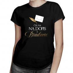 Čekám na dopis z Bradavic - dámská trička s potiskem