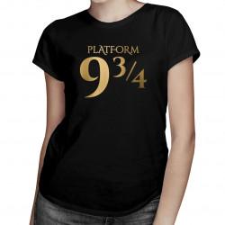 Platform 9 3/4 - dámská trička s potiskem