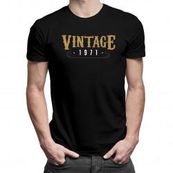 Vintage 1971 - pánské tričko s potiskem