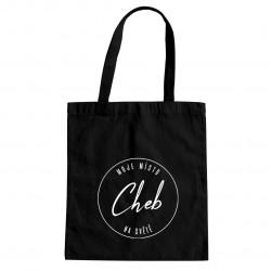 Cheb - moje místo na světě - taška s potiskem