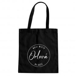 Orlová - moje místo na světě - taška s potiskem