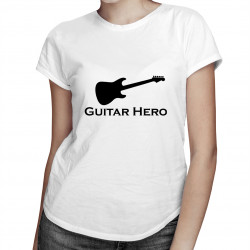 Guitar Hero - dámské tričko s potiskem