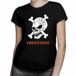 Freerider - dámské tričko s potiskem