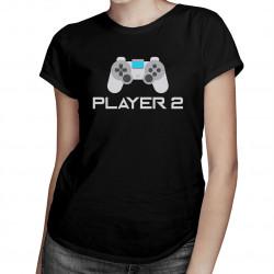 Player 2 v2 - dámské tričko s potiskem