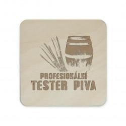 Profesionální tester piva - podložky pod hrnek