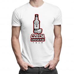 Czech Drinking Team - pánské tričko s potiskem