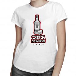 Czech Drinking Team - dámské tričko s potiskem